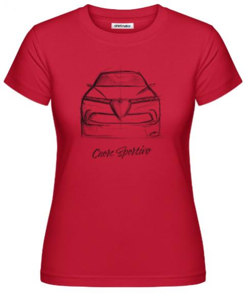 Scuderia Shirt - TONALE - DONNA / PREMIUM