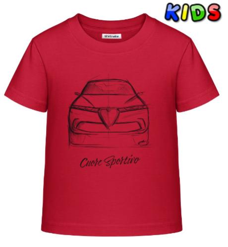 Scuderia Shirt - TONALE - JUNIOR
