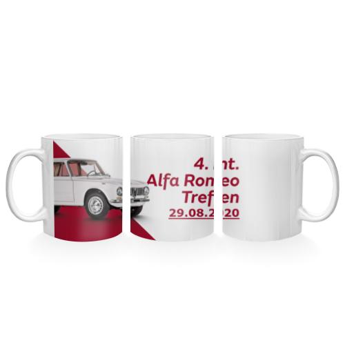 Scuderia Erinnerungstasse 4. Int. Alfa Romeo Treffen Tirol