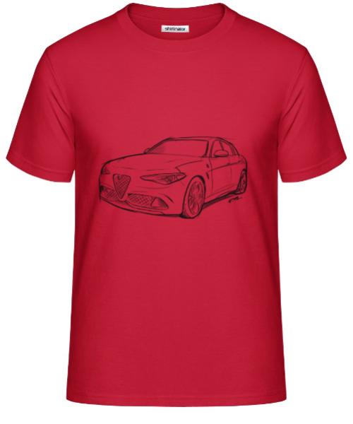 Scuderia Shirt - GIULIA - UOMO / PREMIUM